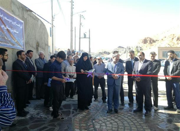 افتتاح پروژه هاي عمراني و خدماتي